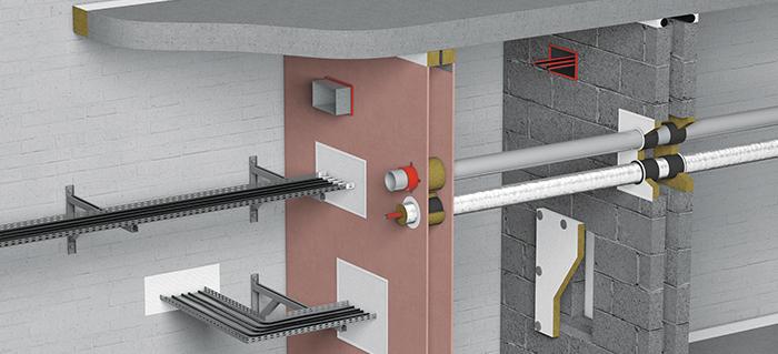 Protection passive contre l'incendie, calfeutrement coupe-feu