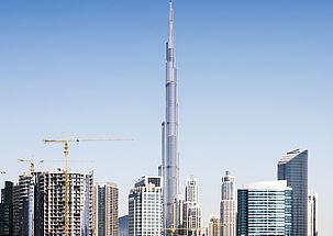 tremco illbruck fits out the Burj Khalifa